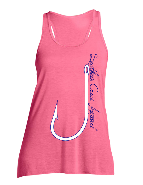 J-Hook Flowy Tank, Tank Top - Southern Cross Apparel