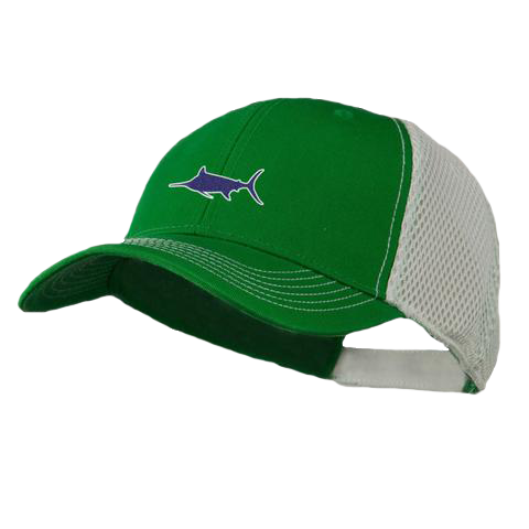 Marlin Athletic Trucker Hat, Hat - Southern Cross Apparel