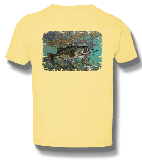 Lilypad Lunker Youth Short Sleeve, T-Shirts - Southern Cross Apparel