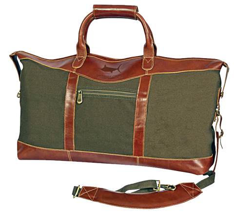 Look Away Leather Weekender Duffel, Accessories - Southern Cross Apparel