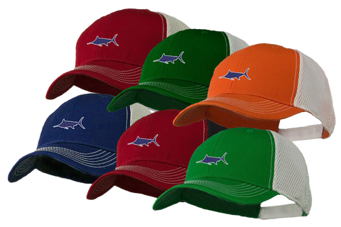 Marlin Athletic Trucker Hat