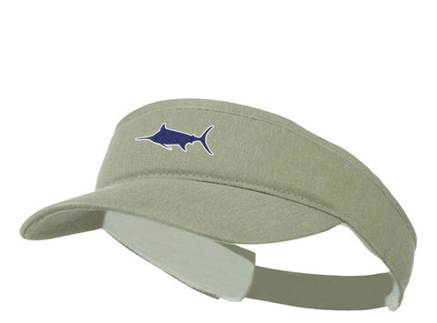 Marlin Pigment-Dyed Visor, Visor - Southern Cross Apparel