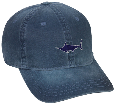 Marlin Pigment Dyed Cotton Twill Hat, Hat - Southern Cross Apparel