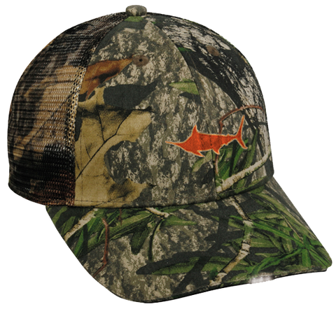 Marlin HiBeam® Meshback Hat, Hat - Southern Cross Apparel