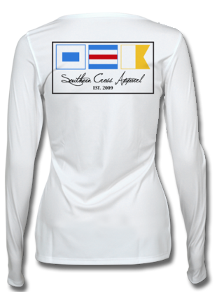 Nautical Flags Ladies Performance Gear