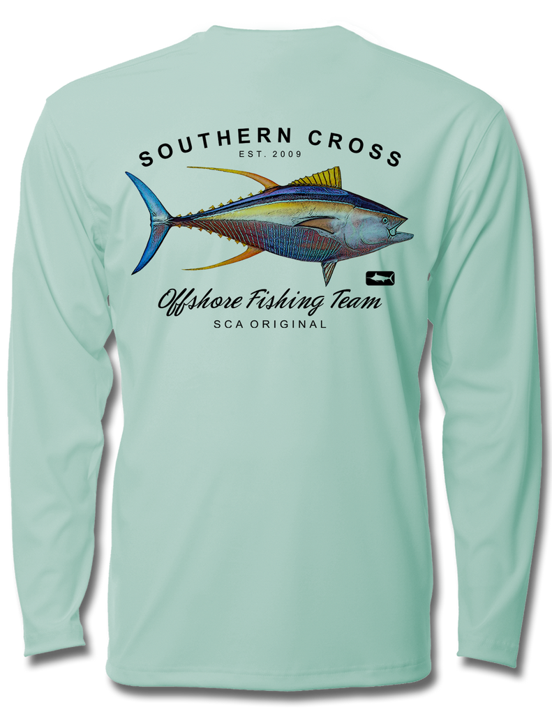 Offshore Fishing Team Tuna Kids Long Sleeve Performance