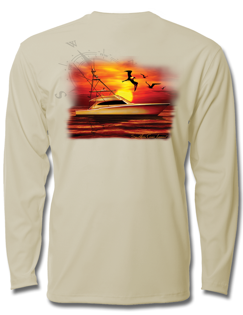 Offshore Sunset Performance Gear, Performance Gear - Southern Cross Apparel