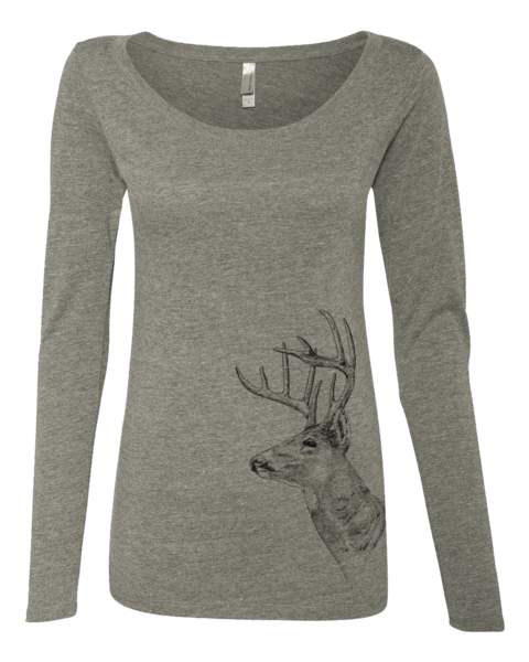 Oh Deer Scoopneck, T-Shirts - Southern Cross Apparel