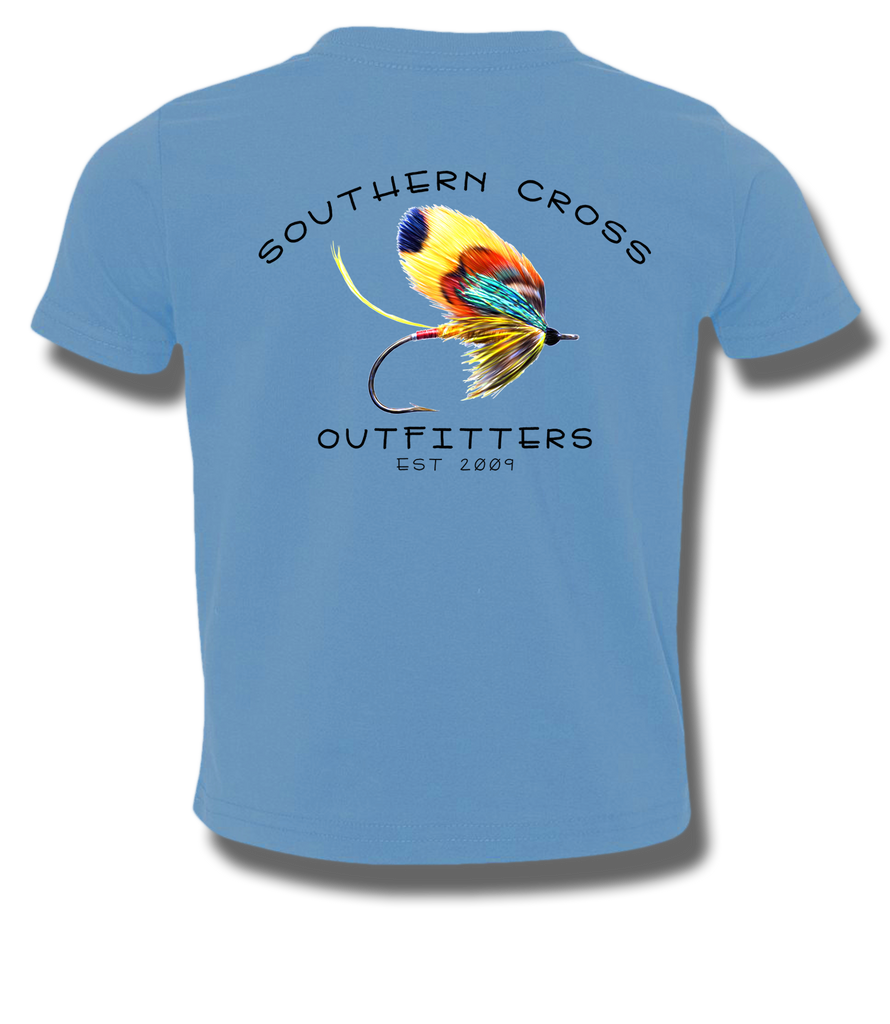 On The Fly Youth Short Sleeve, T-Shirts - Southern Cross Apparel