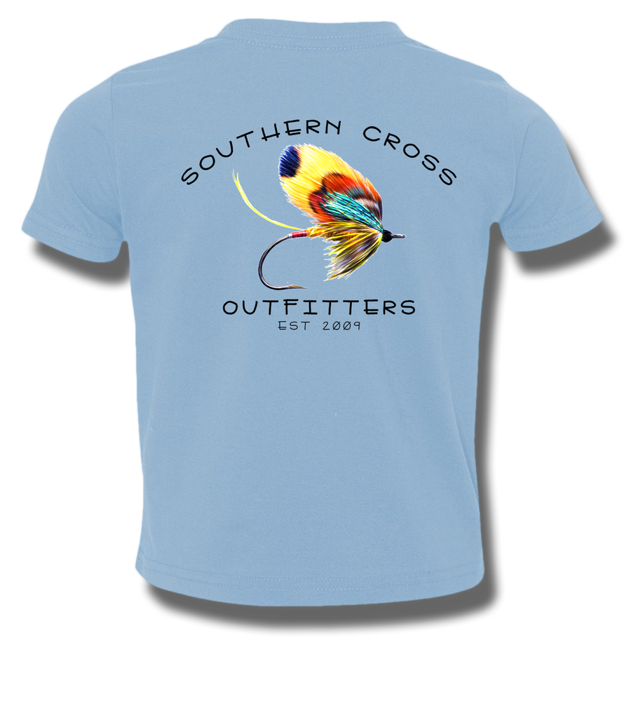 On The Fly Toddler Short Sleeve, T-Shirts - Southern Cross Apparel