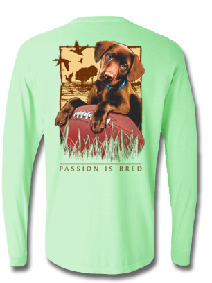 Passion is Bred Long Sleeve, T-Shirts - Southern Cross Apparel