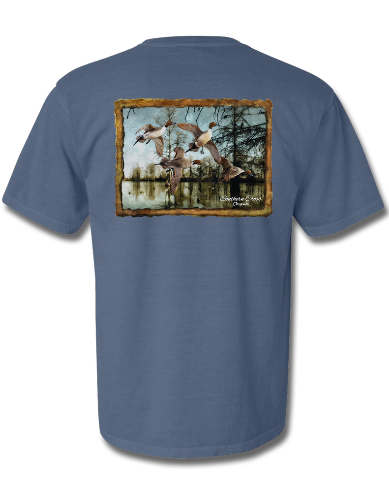 Pintail Bayou Short Sleeve, T-Shirts - Southern Cross Apparel