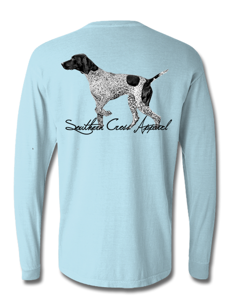 Pointer Long Sleeve, T-Shirts - Southern Cross Apparel