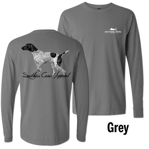 Pointer Grey Long Sleeve Small