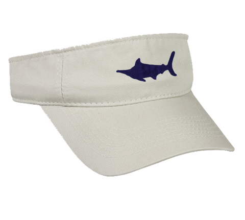 Marlin Garment Washed Twill Visor