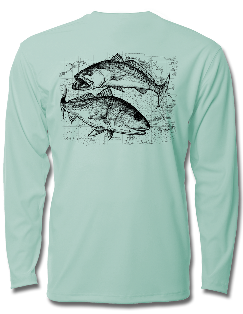 Speckled Trout and Redfish Kids LS Performance