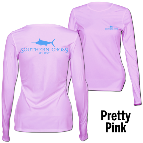 SCA Logo (Teal) Womens Performance Gear, Performance Gear - Southern Cross Apparel