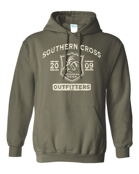 SC Tribal Hoodie, Sweatshirt - Southern Cross Apparel