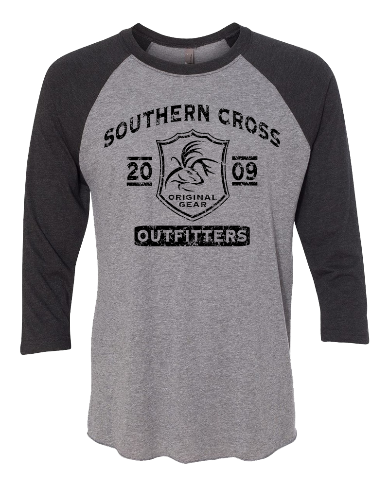 SC Tribal Raglan, T-Shirts - Southern Cross Apparel