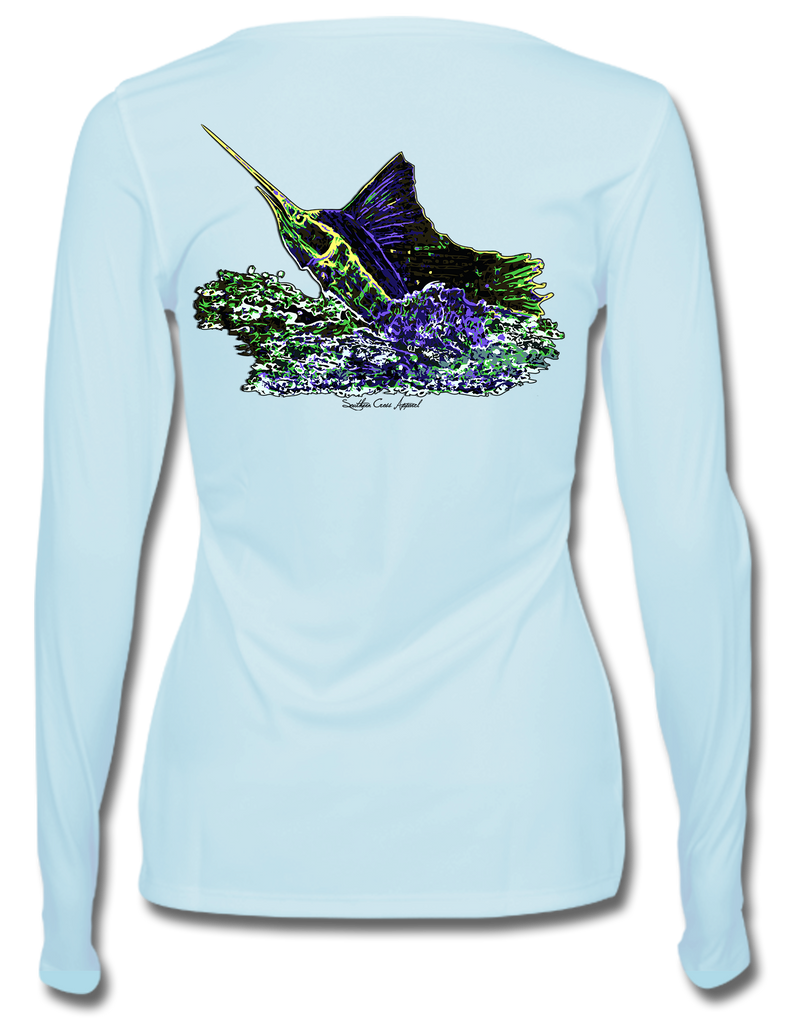 Sailfish Explosion Ladies Performance Gear, Performance Gear - Southern Cross Apparel