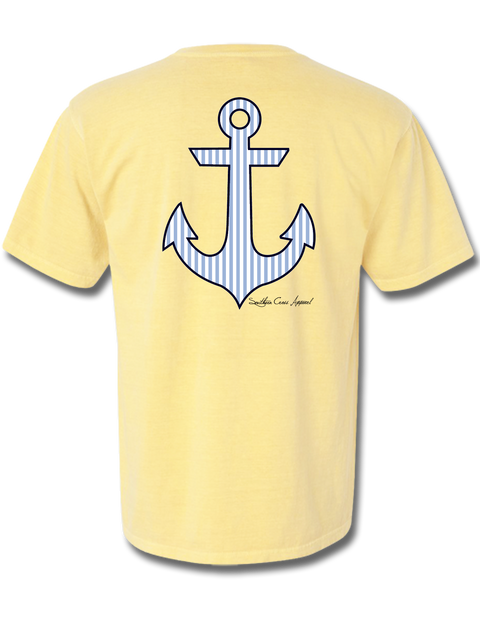 Seersucker Anchor Short Sleeve