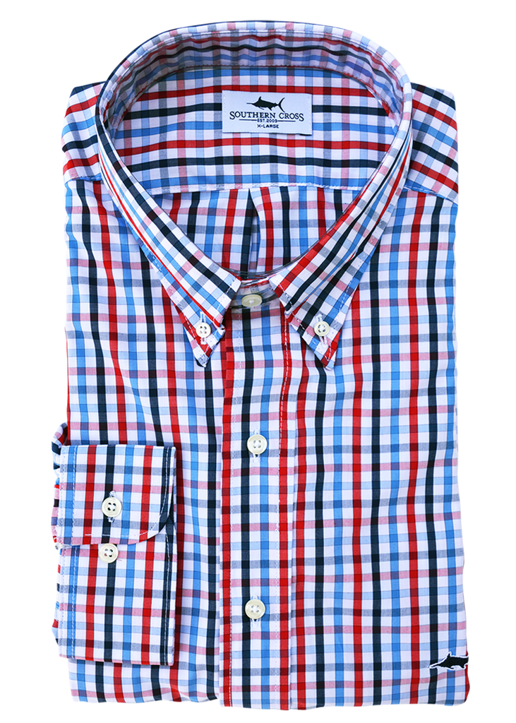 Blakeley Bamboo Sport Shirt, Sport Shirt - Southern Cross Apparel