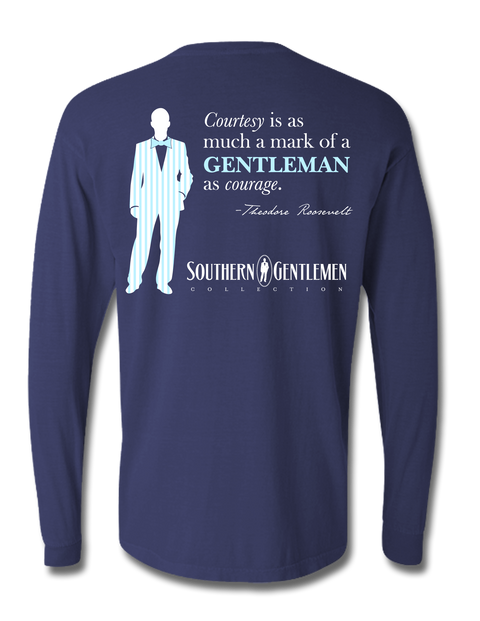 Southern Gentlemen Teddy Long Sleeve