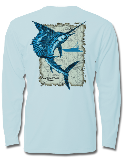 Southern Sail Kids Long Sleeve Performance, Performance Gear - Southern Cross Apparel