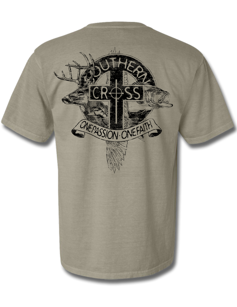 The Trinity Short Sleeve, T-Shirts - Southern Cross Apparel