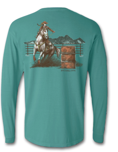 Turn and Burn Long Sleeve, T-Shirts - Southern Cross Apparel