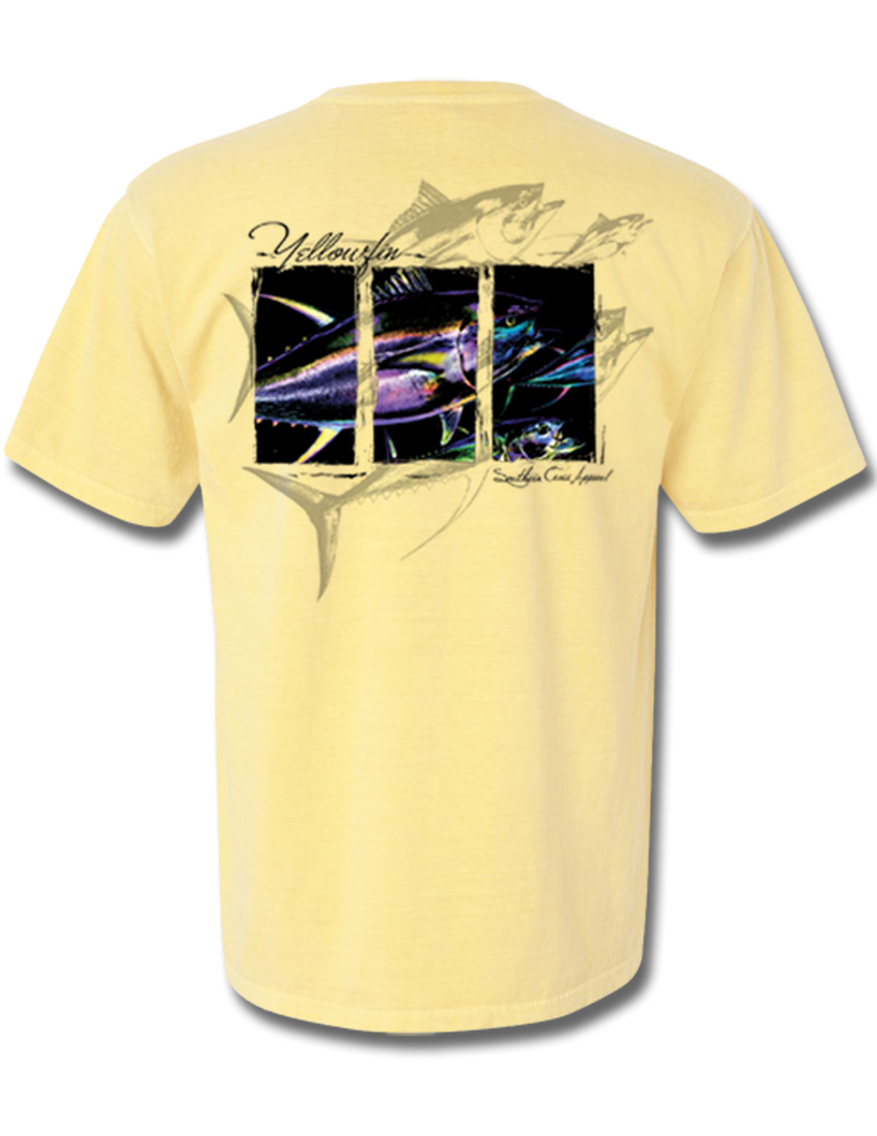 Yellowfin Short Sleeve, T-Shirts - Southern Cross Apparel