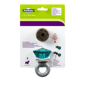 Jewel Pop Treat Ring Holding Dog Toy