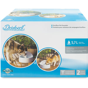Drinkwell® Everflow Indoor/Outdoor Pet Fountain