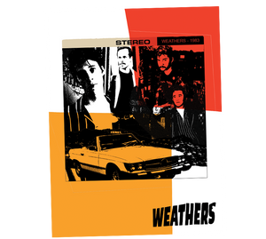 """1983 Vibe"" - Weathers Poster"