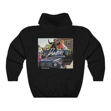 Load image into Gallery viewer, Bean Boy Orange Signature Hoodie in Black