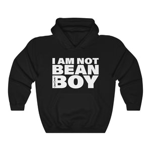 I Am Not Bean Boy Hoodie in Black
