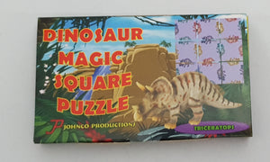 Dinosaur Magic Square Puzzle