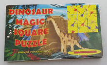 Load image into Gallery viewer, Dinosaur Magic Square Puzzle