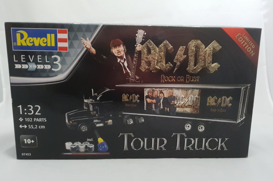 AC/DC Tour Truck Model