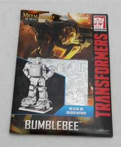 Bumblebee Metal Earth puzzle