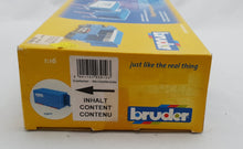 Load image into Gallery viewer, Bruder Shipping Container