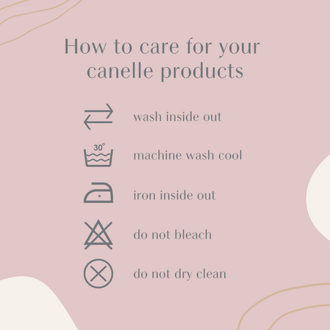washing care instructions for printed sweatshirts and t-shirts