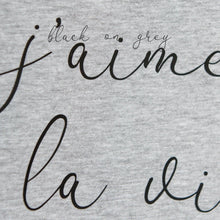Load image into Gallery viewer, bonjour! slogan organic cotton short sleeve t-shirt