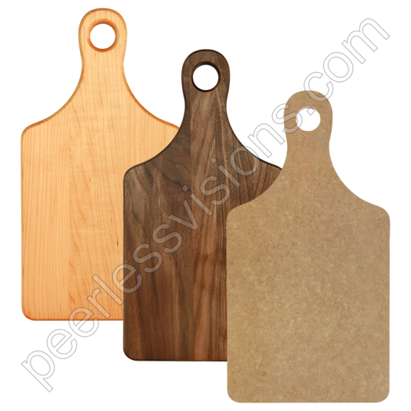Cutting Board Paddle Shape