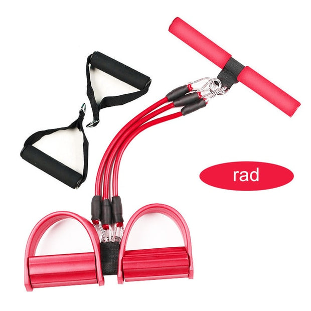 Fitness Gum 4 Tube Resistance Bands