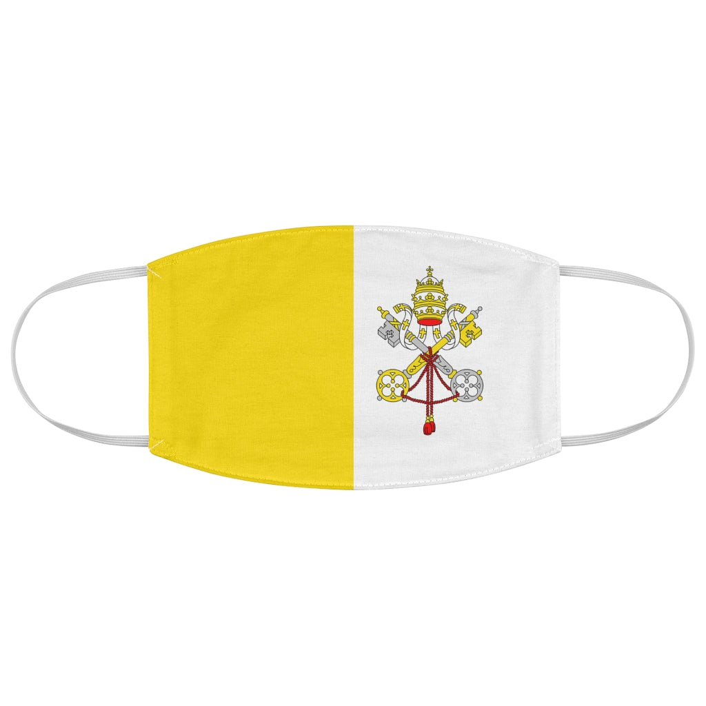 Vatican City - Fabric Face Mask