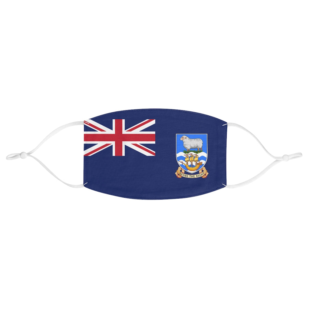 Falkland Islands - Fabric Face Mask