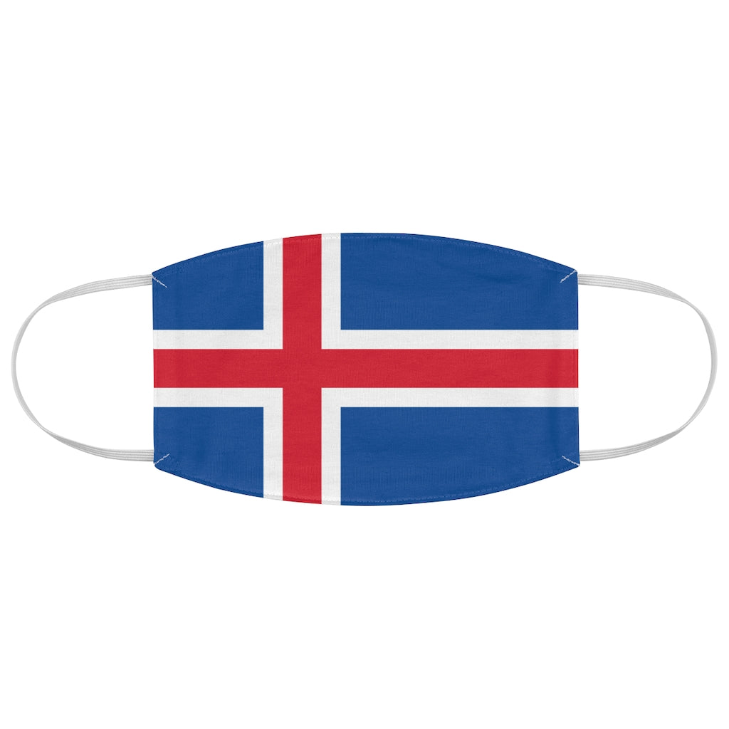 Iceland - Fabric Face Mask