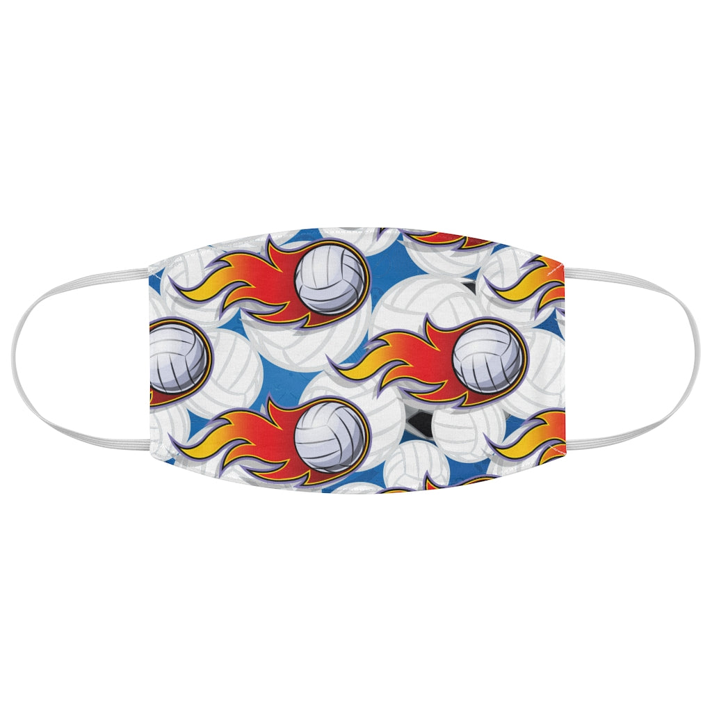Volleyball Pattern 1 - Fabric Face Mask