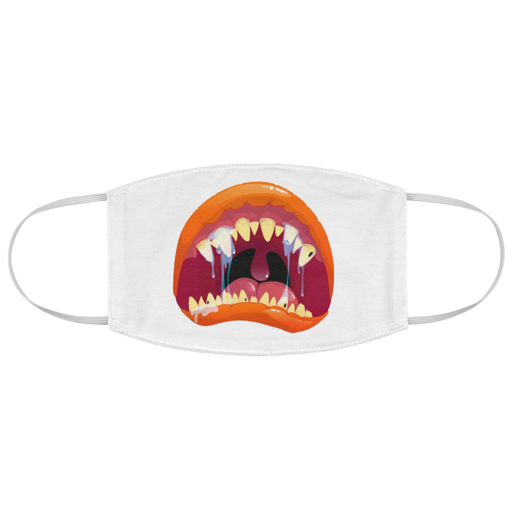 Kids Monster Mouth 1 - Fabric Face Mask